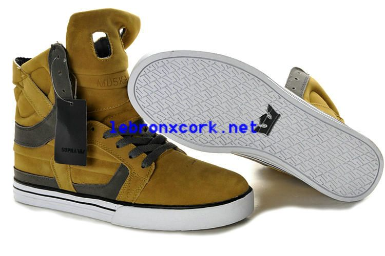 Supra Skytop II Yellow Grey Men's Shoes Hot, Price: - Air Jordan Shoes, New  Jordan Shoes, Michael Jordan Shoes