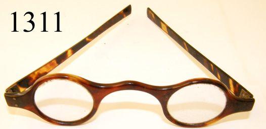 e0b06d130b2 glasses 18th Century Tortoise Shell Frame