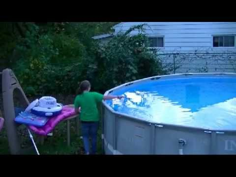 How To Inexpensively Winterize An Intex Above Ground Pool