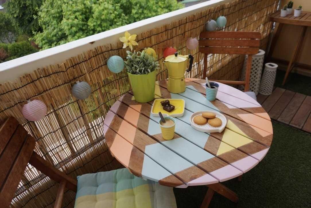 Tutoriel DIY DIY :Relooker une table de jardin en bois ...