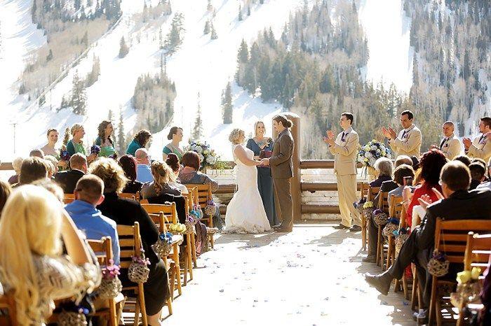 Stein Eriksen Lodge Utah Pea Themed Wedding Pepper Nix Photography Deer Valley