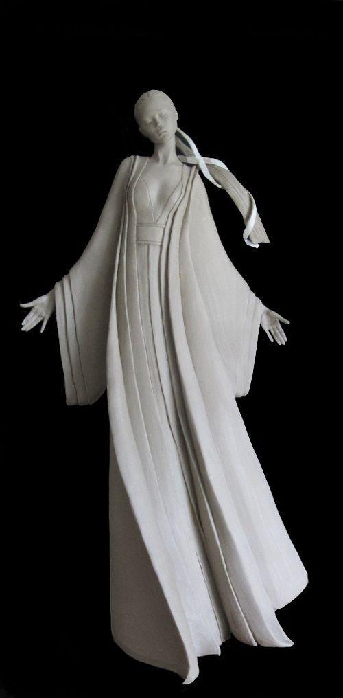 Marie Paule Deville Chabrolle 1952 Sculpture Art Pottery