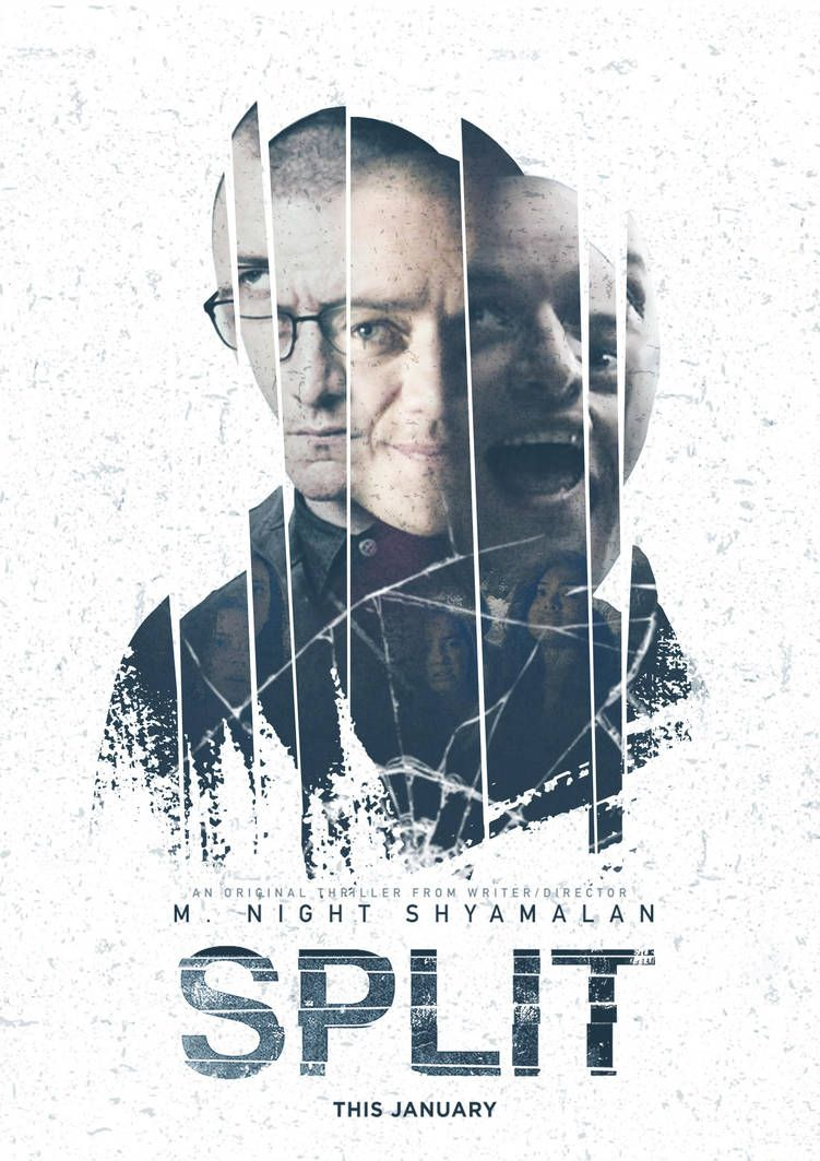 Split Movie Poster By Sokrayzie Film Poster Design Split Movie Movie Posters
