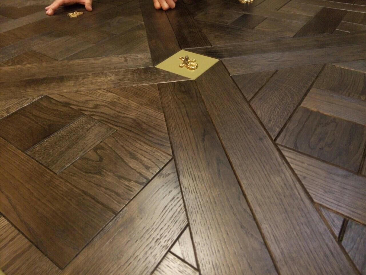 Luxury, Bespoke, Handcrafted Parquet Flooring Panels from