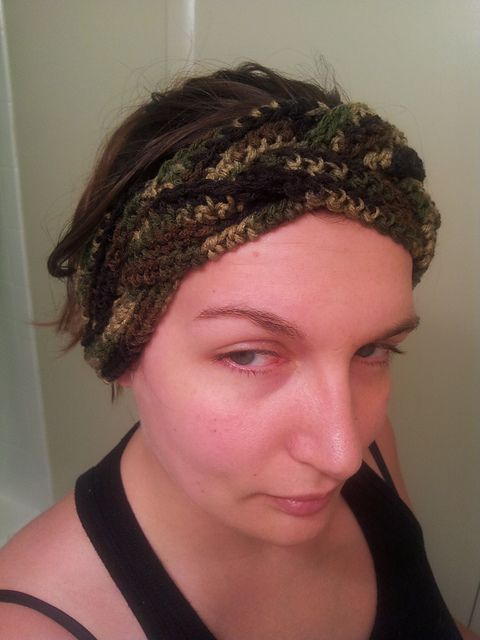 Ravelry Project Gallery For Crochet Braided Headband Adult