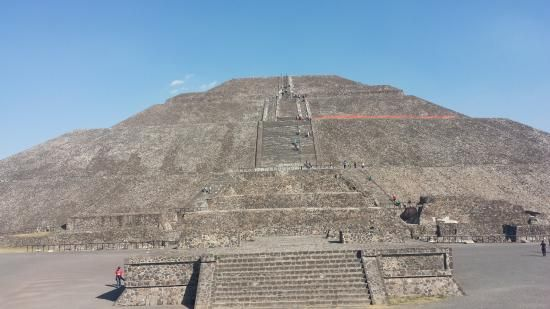 Pyramids Near Mexico City Picture Of Pyramid Of The Sun San San Juan Teotihuacan City Pictures Teotihuacan