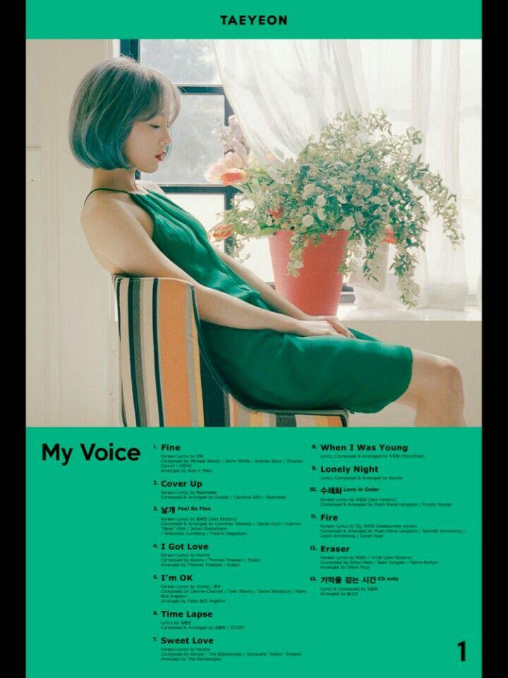 Lirik Fine Taeyeon Romanization