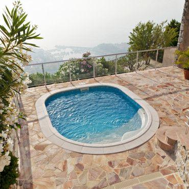 Jard n y terrazas modelos de piscinas peque as para bajos - Presupuestos para piscinas ...