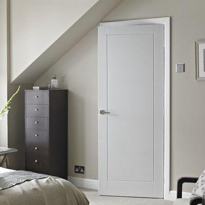 1 Panel White Smooth Internal Door Internal Doors Smooth And Doors