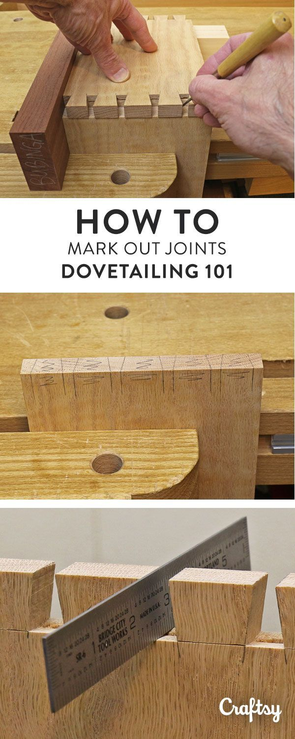 Dovetail Joinery: How to Mark Out Dovetail Joints | Woodworking ...