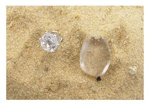Cape May Diamonds Sparkling Crystals That When Cut And Faceted Have The Earance Of Real It S Also Believed Stones Influence Success