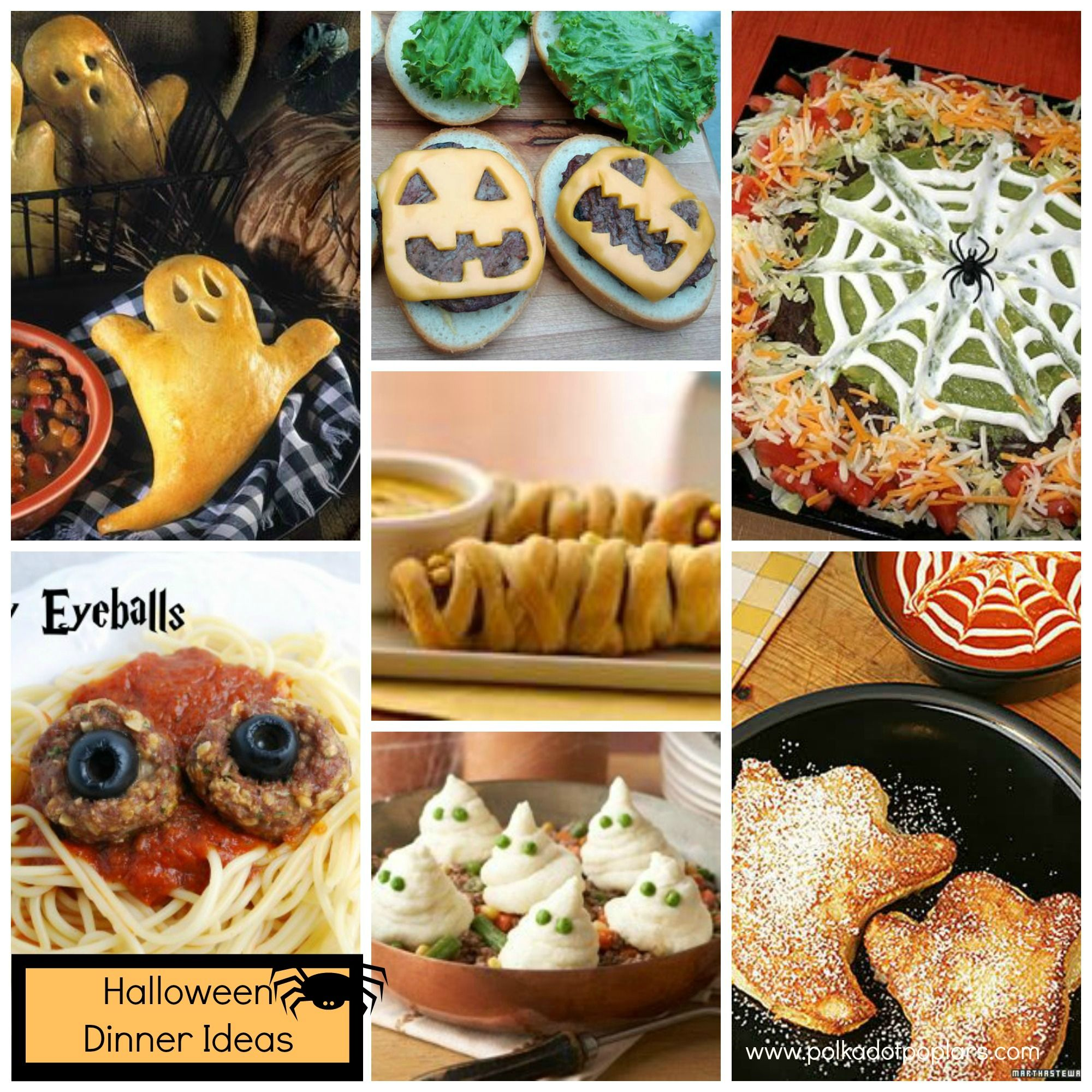 Superb Dinner Ideas For Halloween Party Part - 9: Quick And Easy Halloween Dinner Ideas