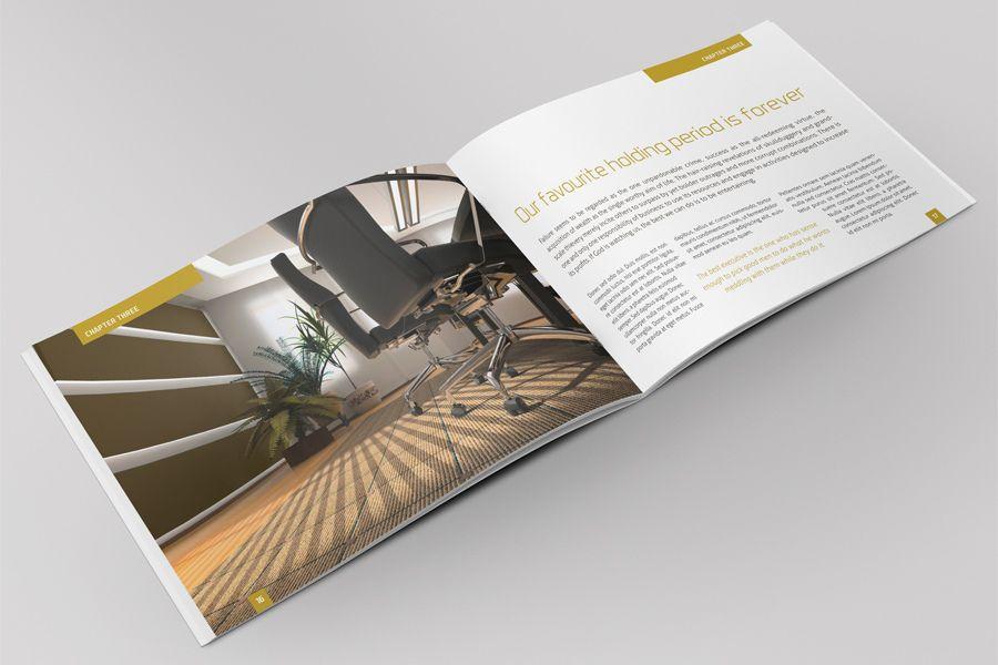 Exclusive Horizontal Brochure Brochures Corporate Identity And