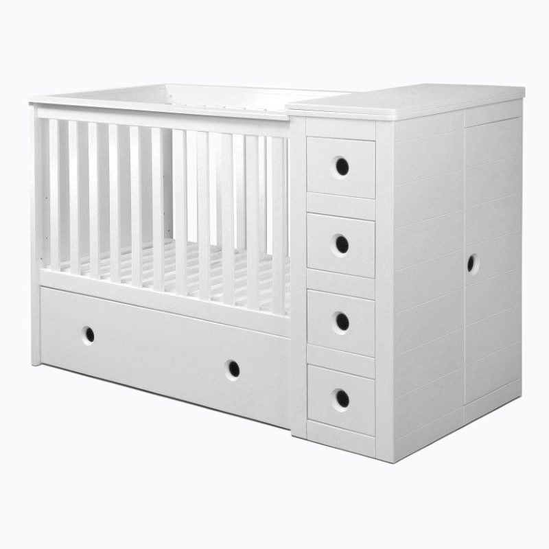 Contemporary Cot Beds Online In 2020 Cot With Storage Cot Bedding Space Baby Bedding