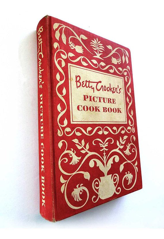 First Edition Betty Crocker's Picture Cook Book 1950