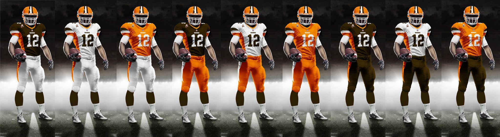 cleveland browns new jerseys