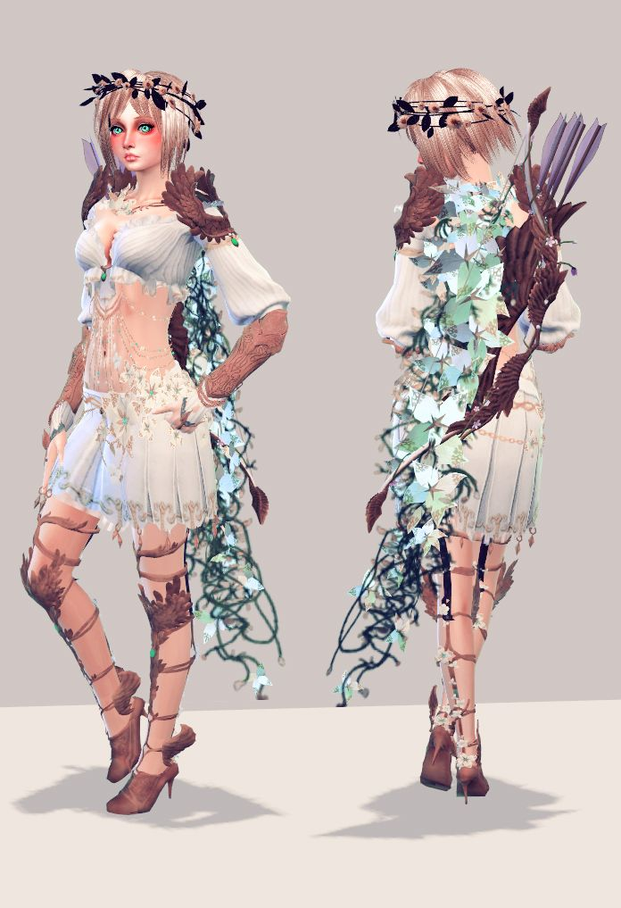 b10492232d Such a cute fantasy outfit!