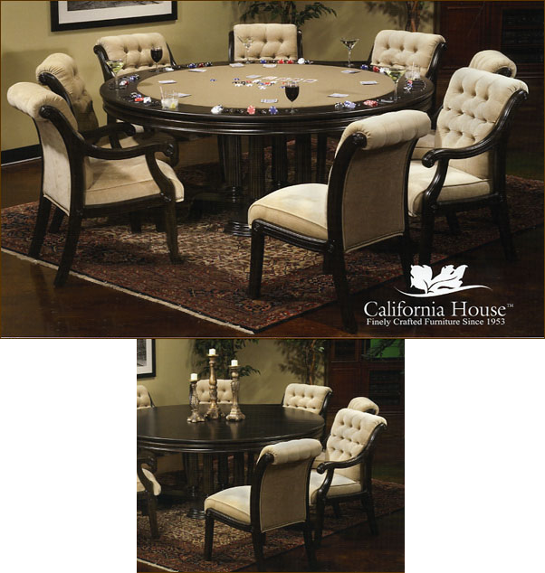 Gentil Brookdale Poker Table By California House