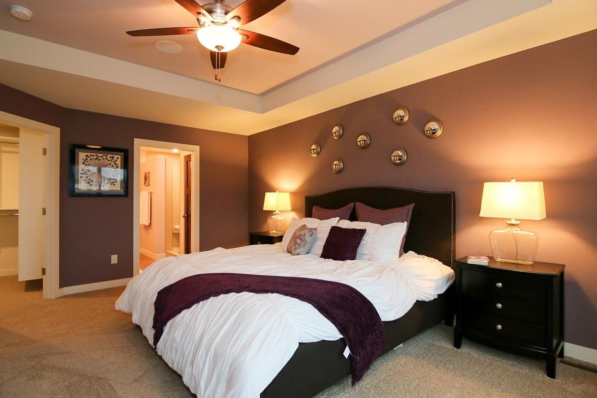 Master Bedroom Design in a Tim O'Brien Homes Monterey ... on New Model Bedroom Design  id=37950
