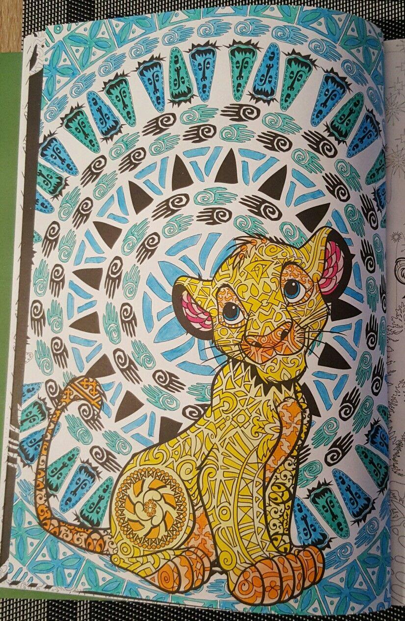 Coloriage Bestiairedisney Roilion Beautiful Books In