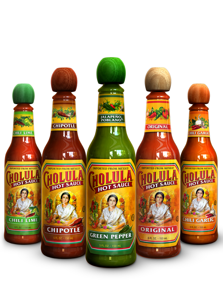 Cholula Hot Sauce Green Pepper Flavor