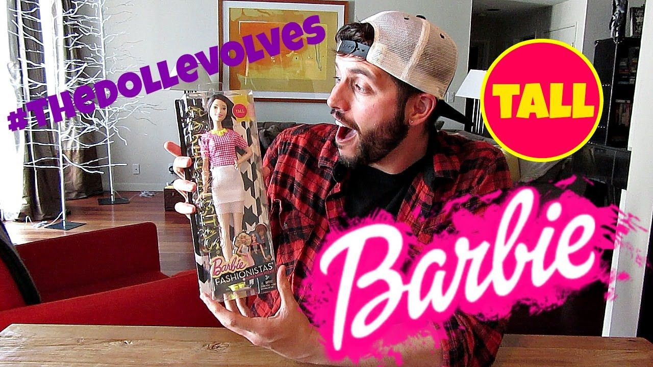 #THEDOLLEVOLVES - BRAND NEW! TALL BARBIE - DOLL REVIEW
