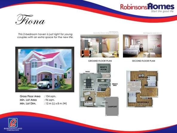 ROBINSONS HOMES HOUSE MODELS House