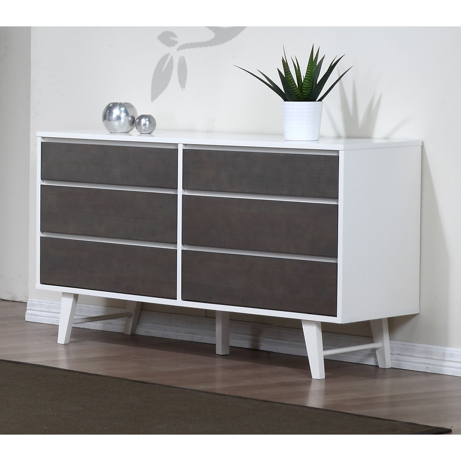 Bedroom Furniture Queens Ny Easy Bedroom Design Ideas Bedroom Sets Houston Baby Bedroom Wall Art: This Dresser Features Six Convenient Sliding Drawers That