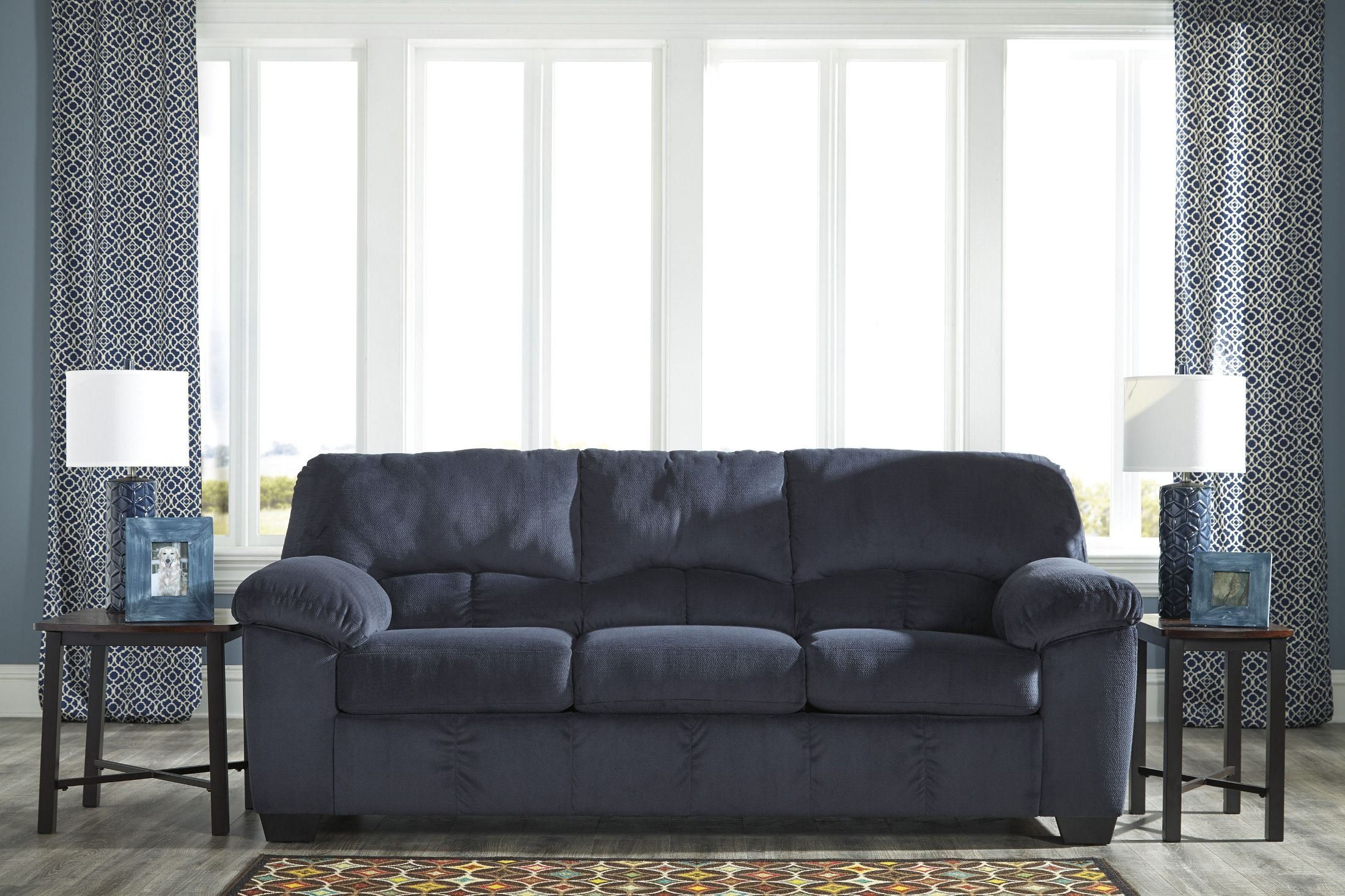 Ashley Dailey Sofa In Midnight Want To Know More Click