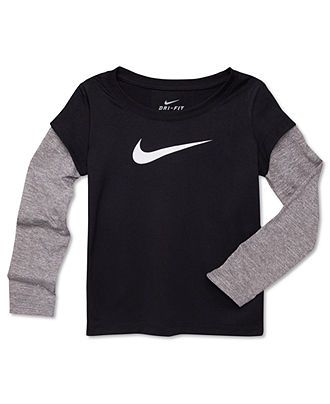368f87841b Nike Kids T-Shirt, Little Boys Legend Layered Tee - Kids Boys 2-7 - Macy's