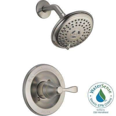 brushed nickel shower fixtures depot 129 porter singlehandle 3spray shower faucet in brushed nickel