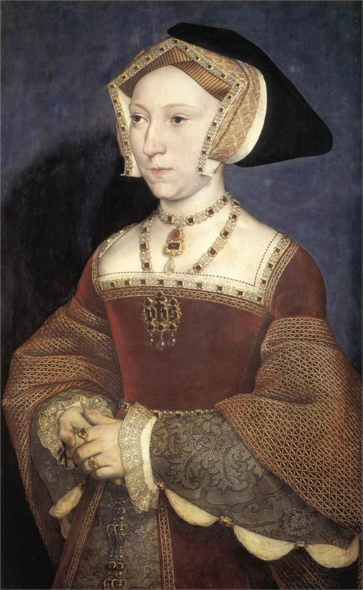 Jane Seymour, 1536 - Hans Holbein the Younger.