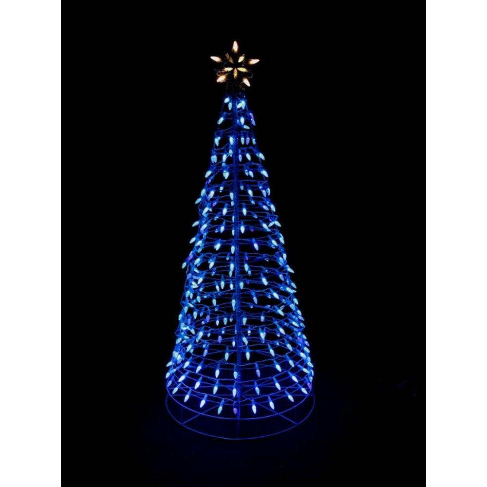 Home Accents Holiday 75 In Pre Lit Christmas Tree With Warm