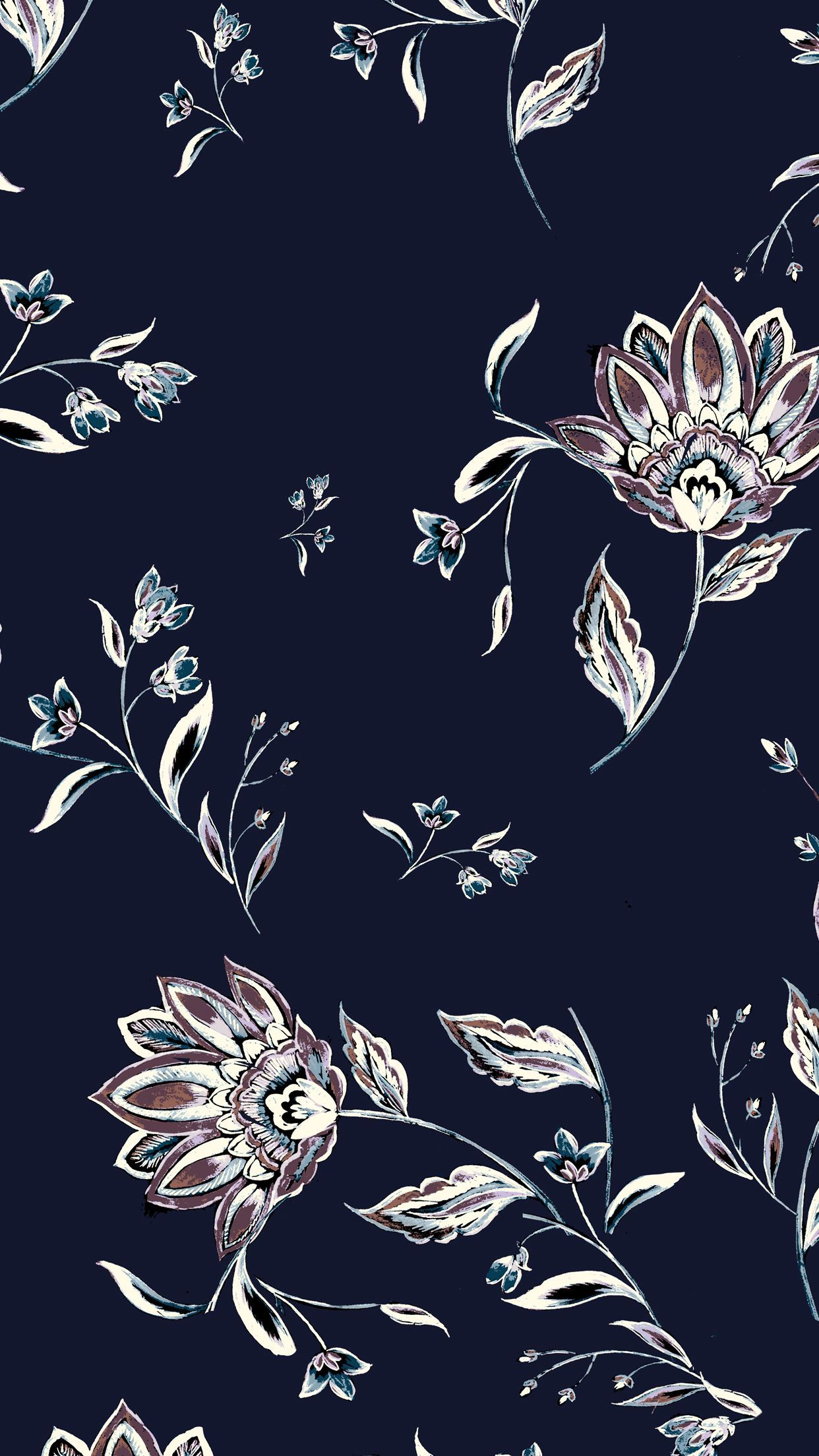 Awesome Floral Phone Wallpapers - WallpaperAccess