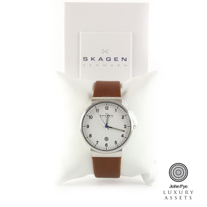 Skagen Ancher Quartz Gents Watch  e55c7c9f42a8