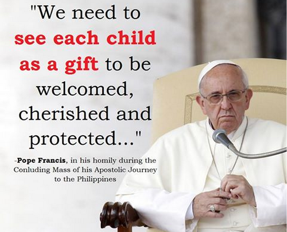 Tome Of A Layman: 5 Media Shattering Quotes From Pope