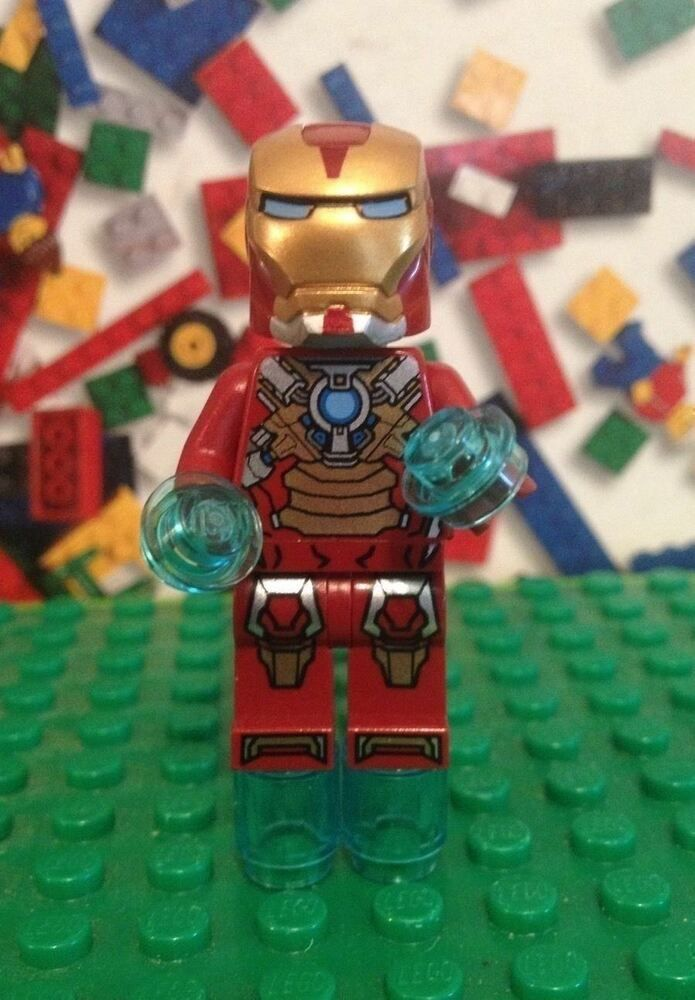 LEGO Iron Man MK17 Heart Breaker Armor 76008 sh073 # ...