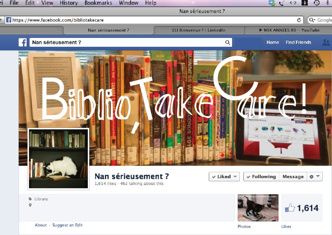 "ISHEN Design currenlty building the logo + identity of ""BiblioTakeCare!"" Like it on Facebook!"