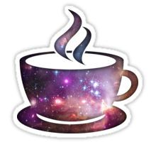 Cosmic Coffee Sticker