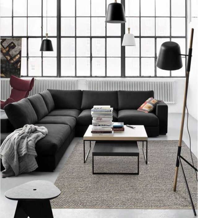 am nager son salon s jour avec 6 id es modernes. Black Bedroom Furniture Sets. Home Design Ideas