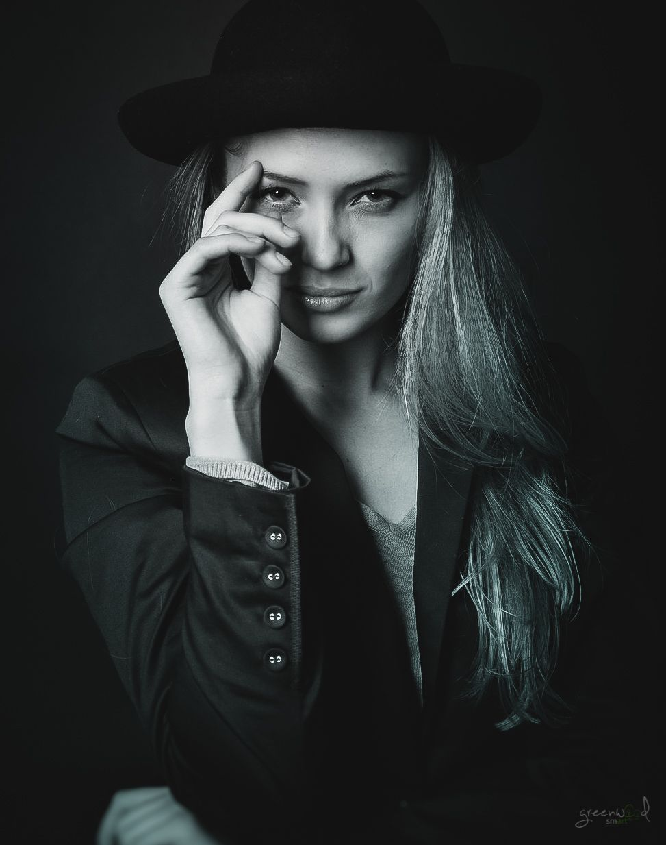 portrait by greenwoodsmart photography