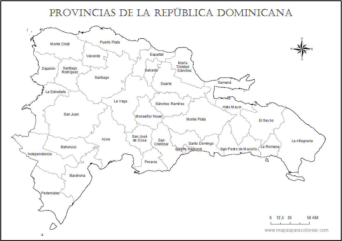 Pin de Michele Britton en maps | Pinterest | República dominicana ...