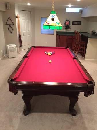 CraftMaster Pool Table 8u0027
