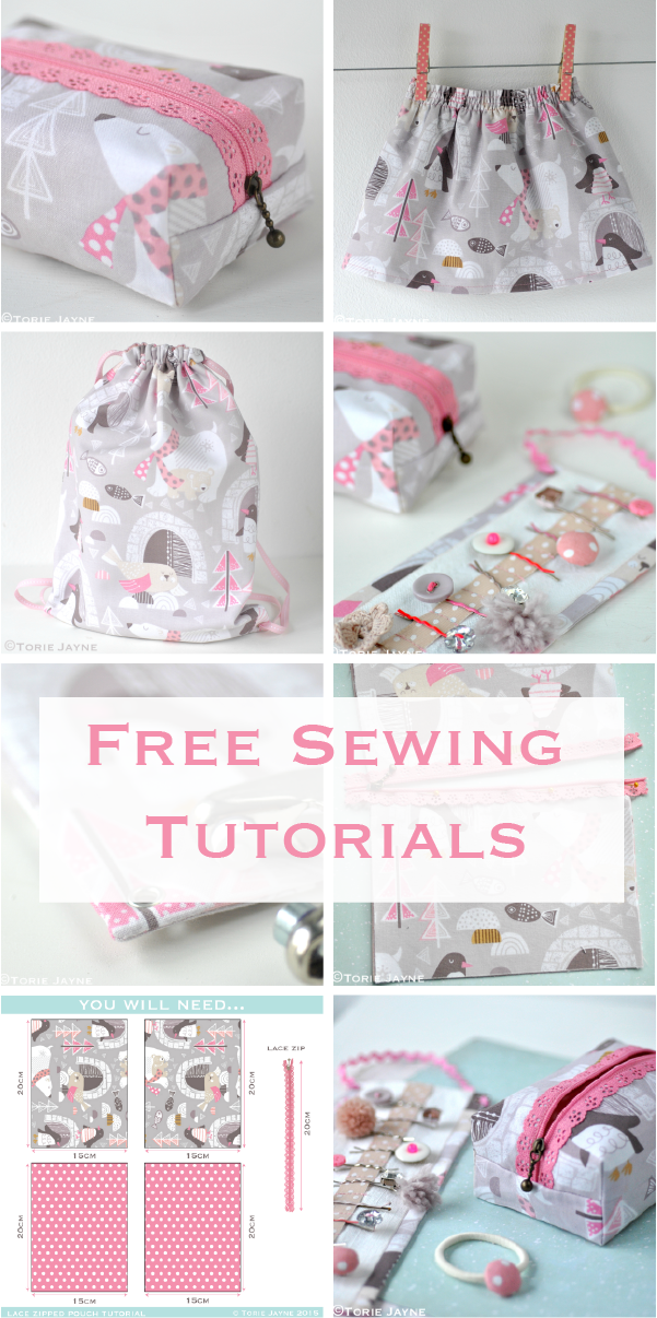 Free sewing tutorials with step by step, patterns and where to buy ...