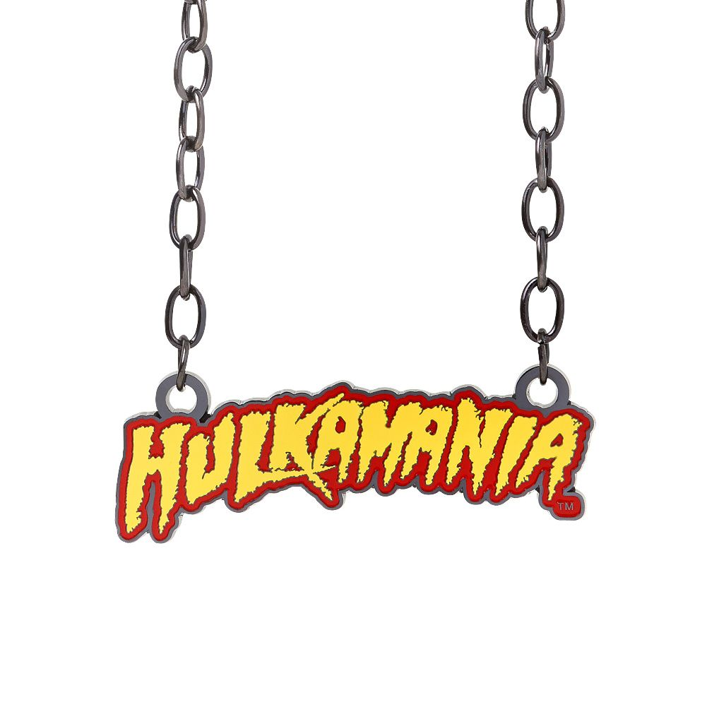 Whatcha gonna do when this Hulkamania Pendant runs wild on you, Brother?