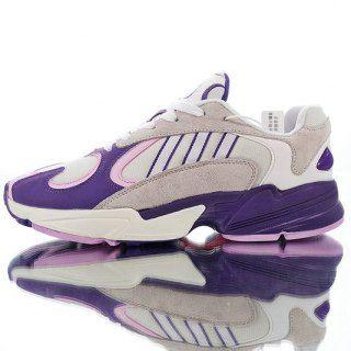 25567a936 Adidas Originals YUNG-1 YEEZY700 Fliesa purple powder white blisters B37614 Mens  Womens Winter Running Shoes