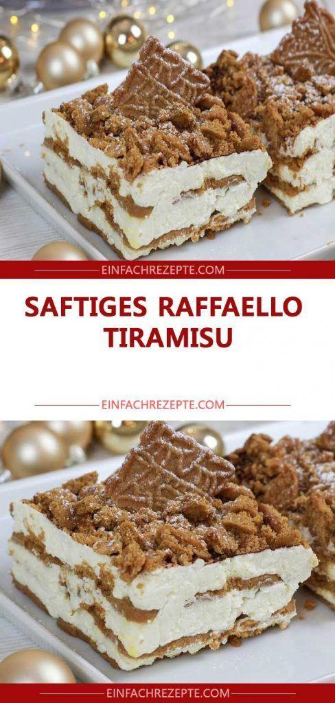 Saftiges RAFFAELLO-Tiramisu in 10 Minuten zubereitet