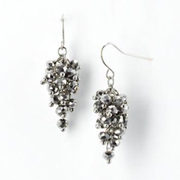 KOHLS $12.60 Simply Vera Vera Wang Bead Drop Earrings