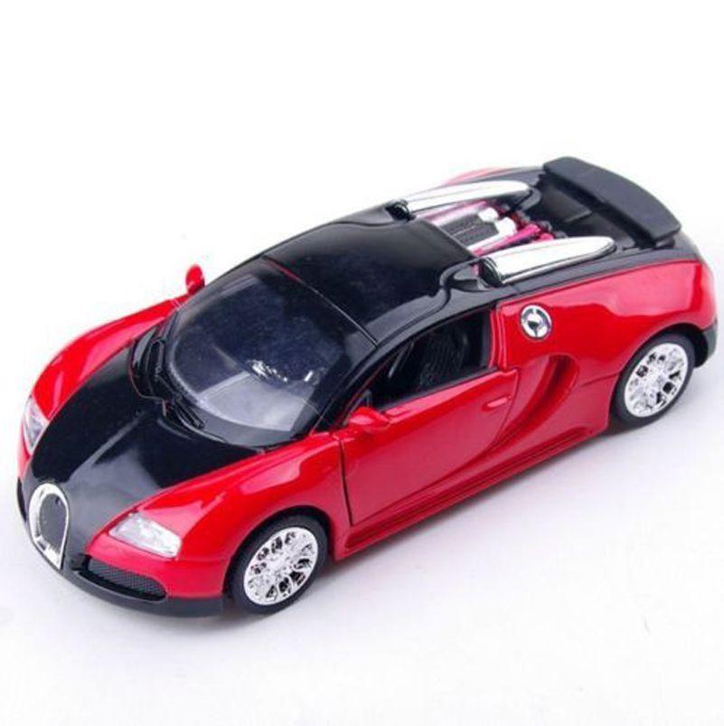 Bugatti Veyron Spoiler: 1:36 Scale Bugatti Veyron Diecast Car Model With Sound