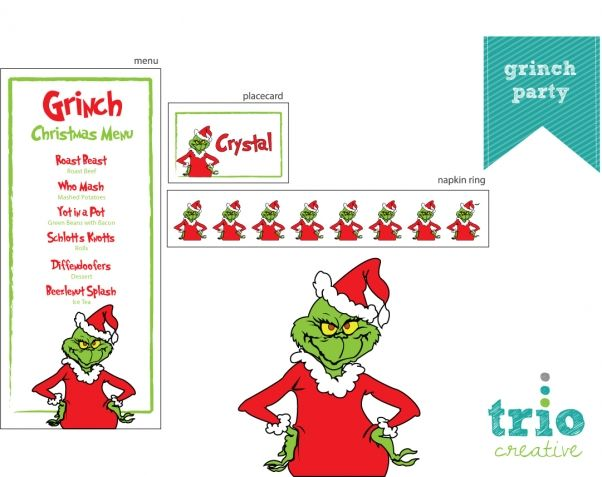 grinch-party | Grinch party | Pinterest